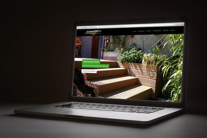 Création d'un site internet responsive et design
